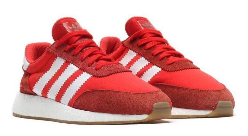 Adidas Iniki Runner красные (40-44)