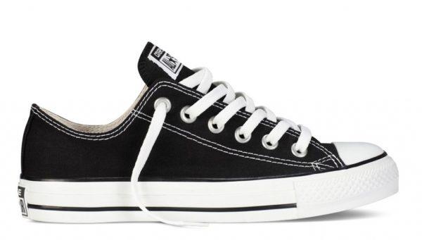 Converse All Star black черные (35-45). Конверс Ол Стар