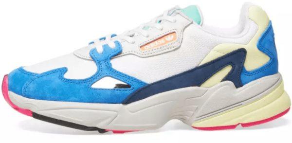Кроссовки Adidas Falcon голубые 35-39