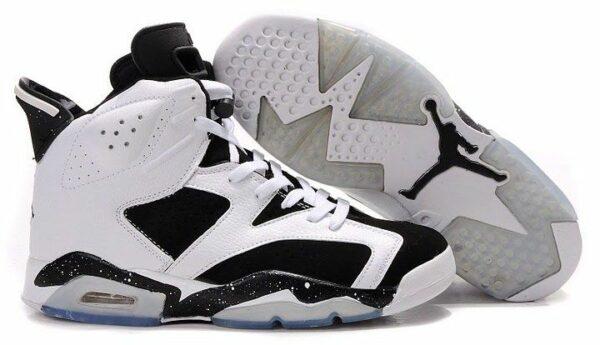 Nike Air Jordan 6 черно-белые (40-45)