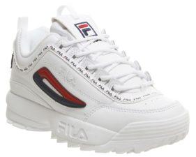 Fila Disruptor 2 Premium white белые (35-39)