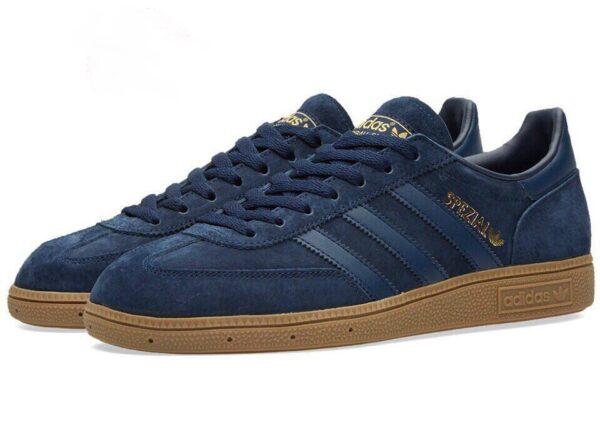 Adidas Spezial темно синие мужские