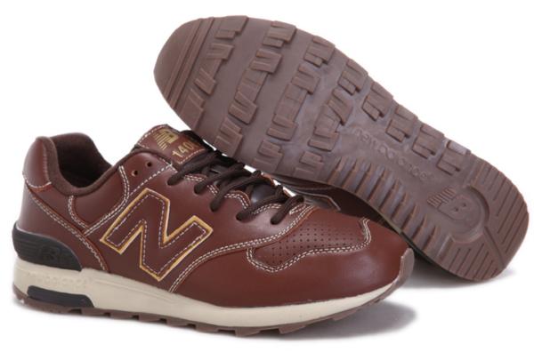Кроссовки New Balance 1400 кожаные коричневые (40-45)