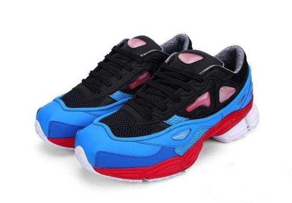 Adidas Ozweego 2 Raf Simons x Black Blue Red синие (35-44)