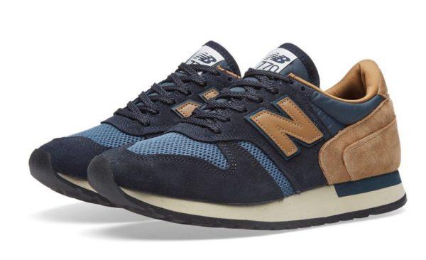 Разноцветные кроссовки New Balance