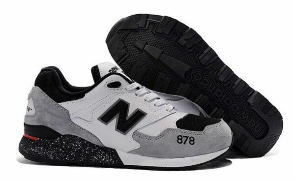 New Balance 878 серые с черным и белым (39-43)